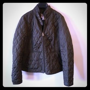 Banana Republic Quilted Bomber Jacket